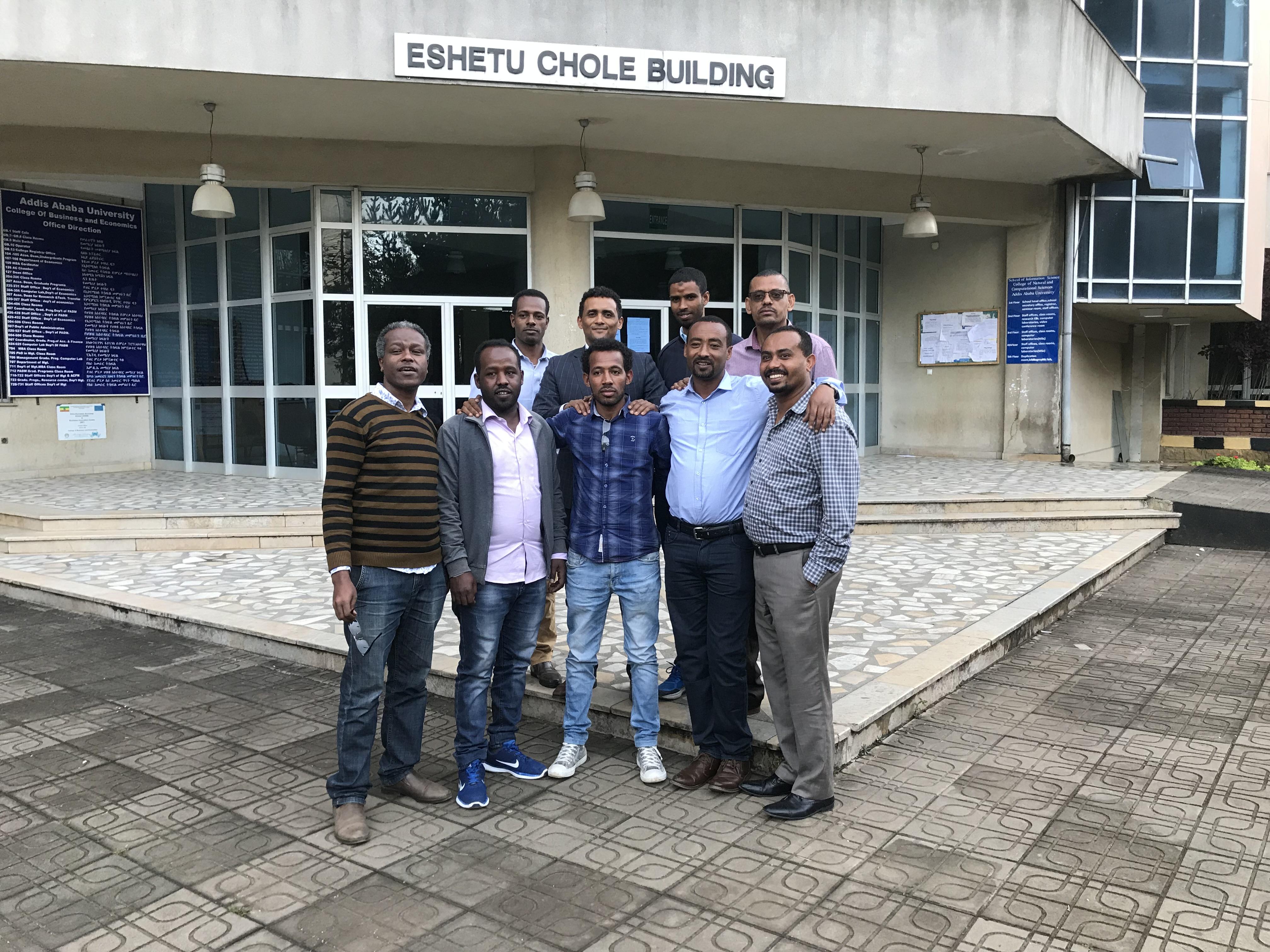 Ethiopian/Swedish PhD - collaboration for increased